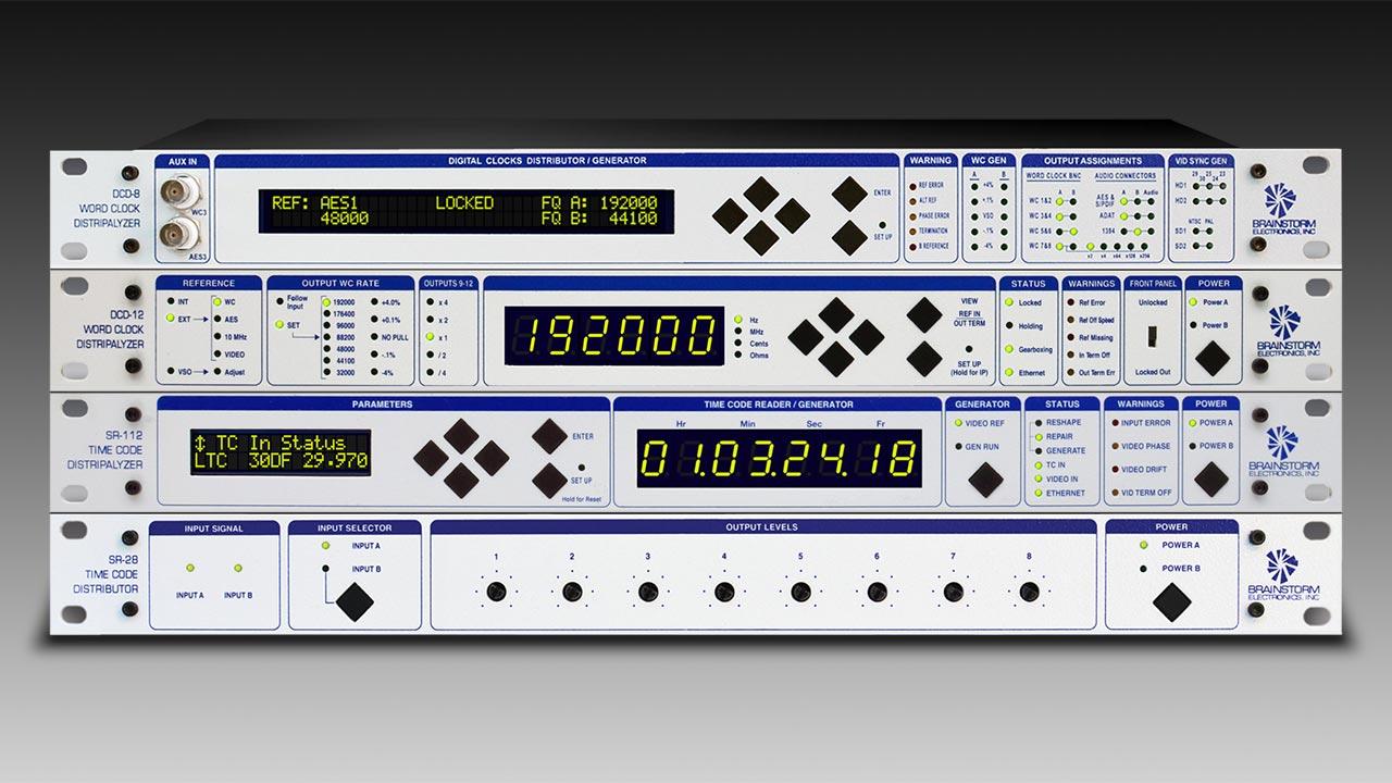 Brainstorm Electronics Rack Units