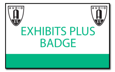 Get Your Free AES 2018 Exhibits-Plus Badge Now
