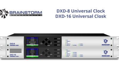 Brainstorm Launches New DXD Hybrid Clocks at Winter NAMM