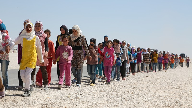 Syrian refugees pollpuma
