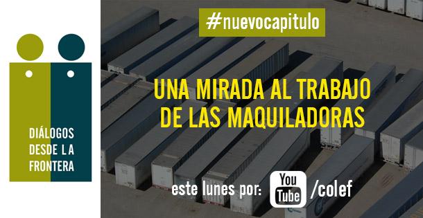 Banner Diálogos desde la frontera por Youtube