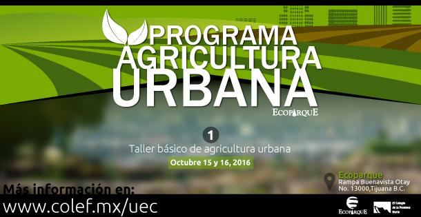 Banner Taller de agricultura urbana