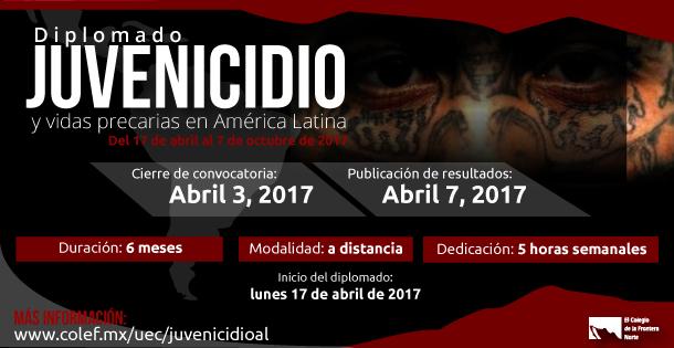 Banner Diplomado Juvenicidio 4 de abril