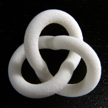 Ropelength trefoil 0.5 square