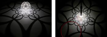 Stereo proj dual circles