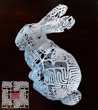 Bunny bunny with tile