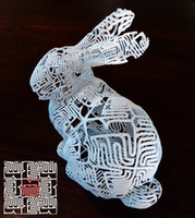 Bunny bunny with tile