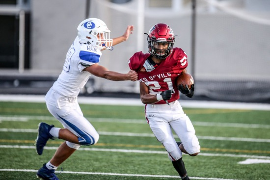09-23-2019 Bradford Red Devils vs Oak Creek Knights JV