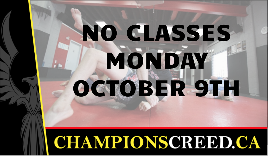 No classes MMA Calgary