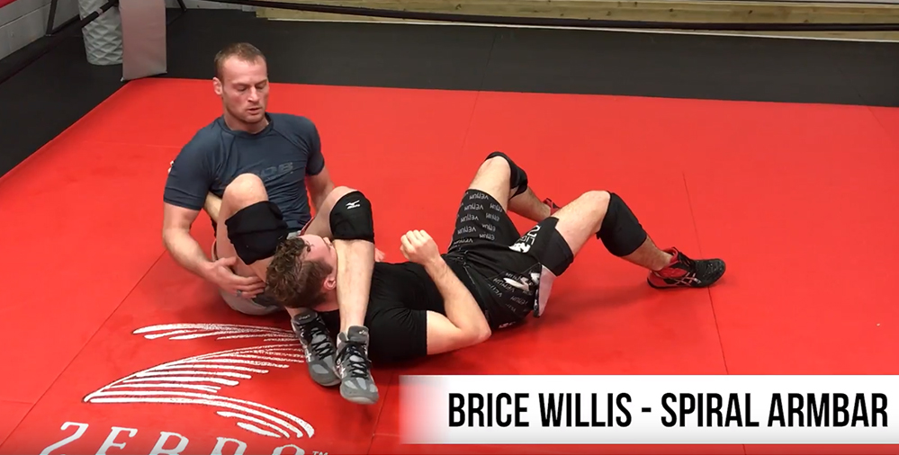 Move of the Month: Brice Willis and His Spiral Armbar