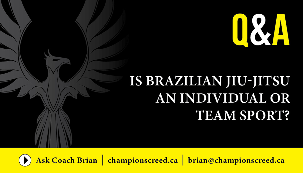 Q&A: Is Brazilian Jiu-Jitsu an Individual or Team Sport?