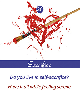Sacrifice Card