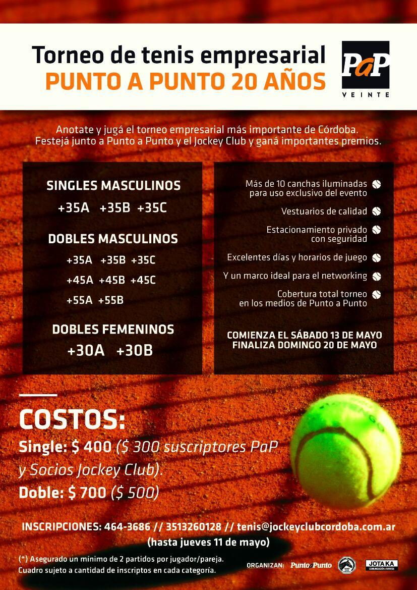 Torneo de Tenis Empresarial