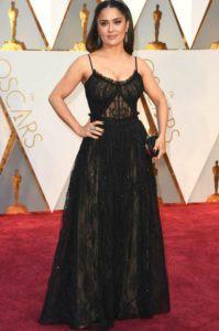 Salma Hayek Oscars 2017