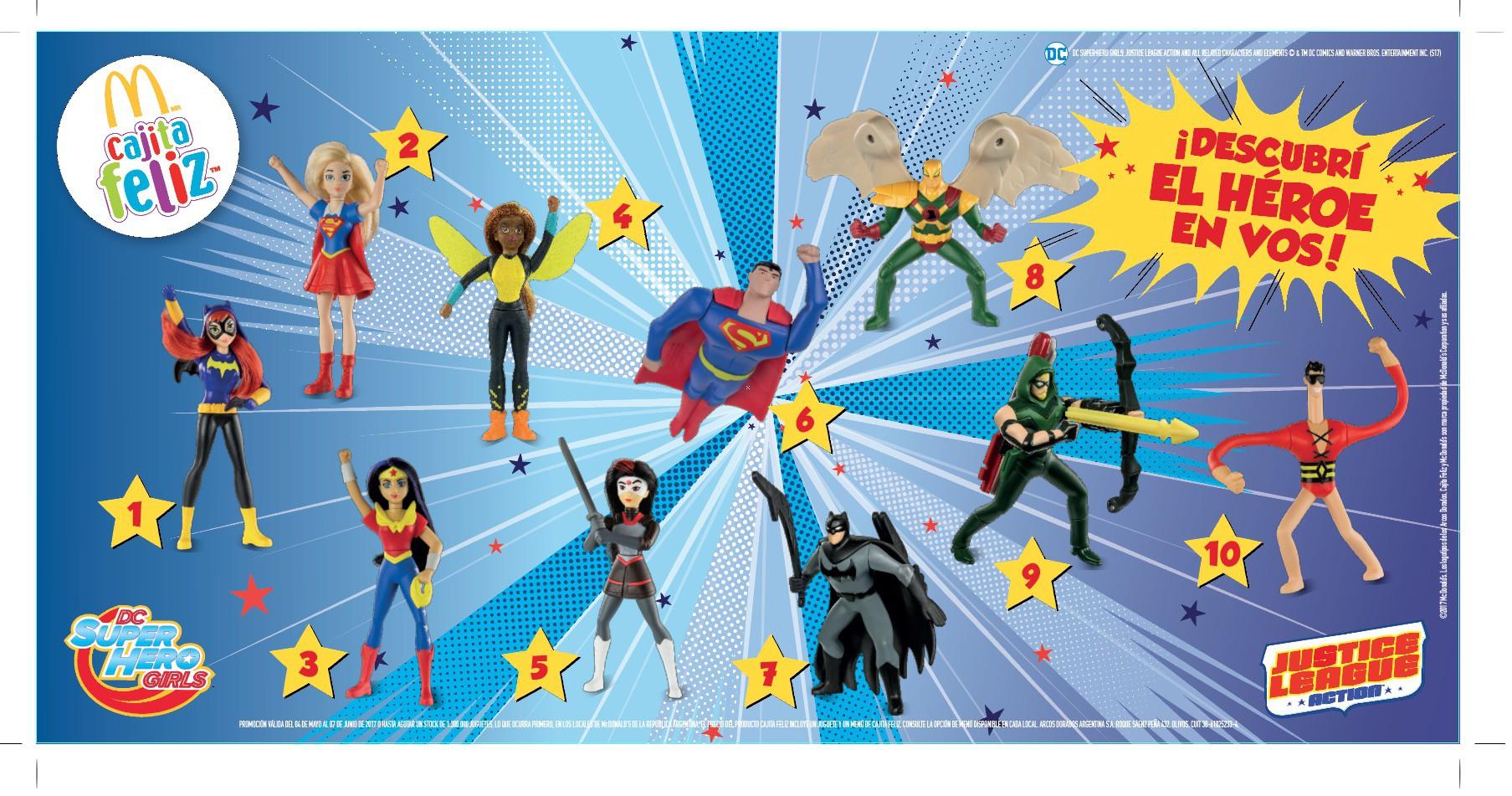 Justice League Action Y Dc Super Hero Girls En La Cajita