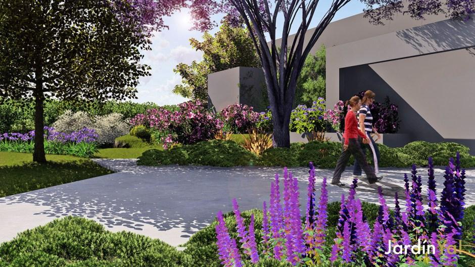 Jardin Ya Un Servicio De Paisajismo Y Diseno De Jardines - Paisajismo-jardines