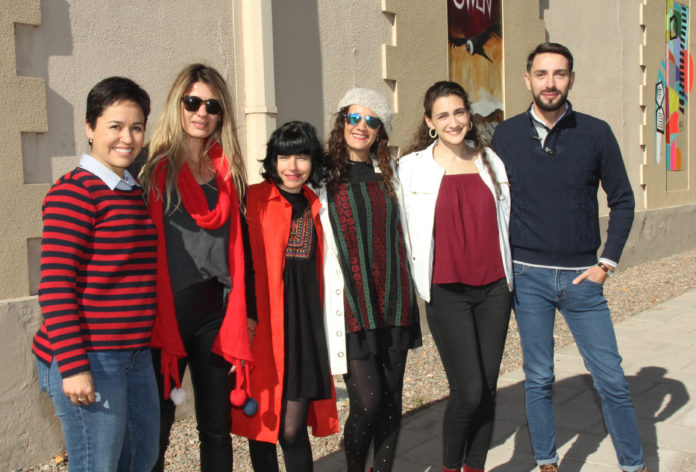 Claudia Piedrahita, Renata Würschmidt, Cecilia Carreras, Valeria Guarnieri, Valentina Del Mar Banyuls y Sebastián Vélez.