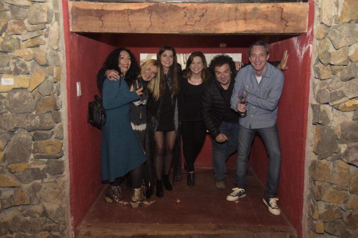 Mónica Souza, Silvia Basso, Andrea Bécares, María Sance, Ale Vigil y Fernando Gabrielli.