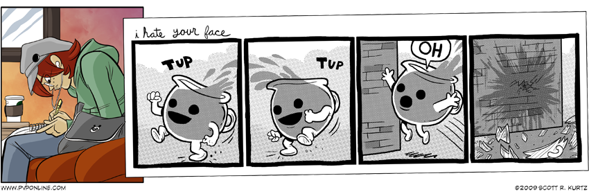 Comic Image for Face Time