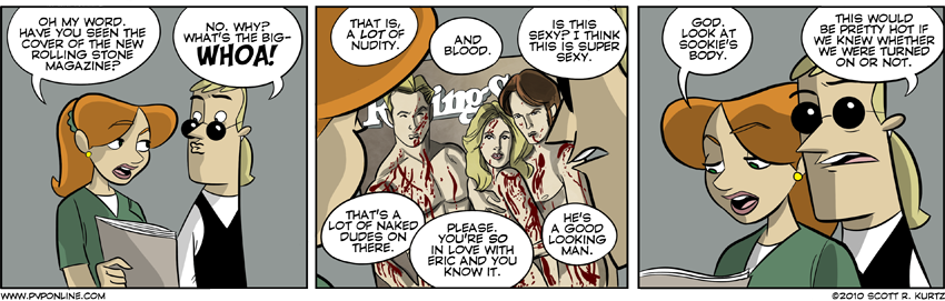 Comic Image for Fangs For The Mammaries