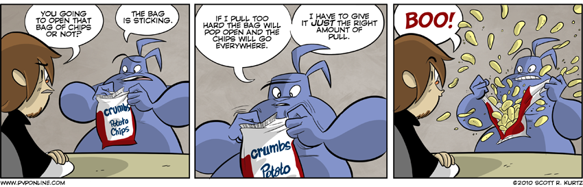 Comic Image for Dumb For Crumbs