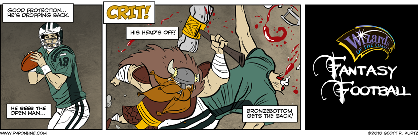 Comic Image for First and d20