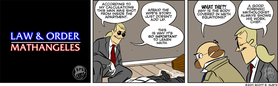 Comic Image for Murder By Numbers