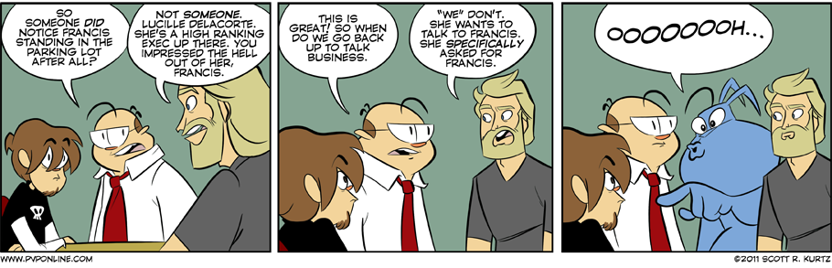 Comic Image for First Impressions