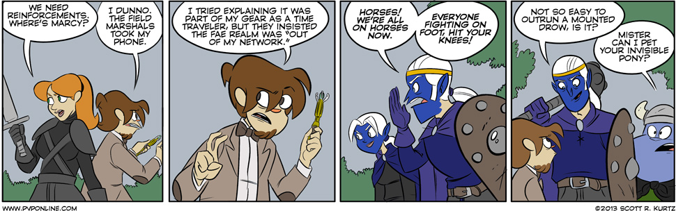 Comic Image for no horseplay