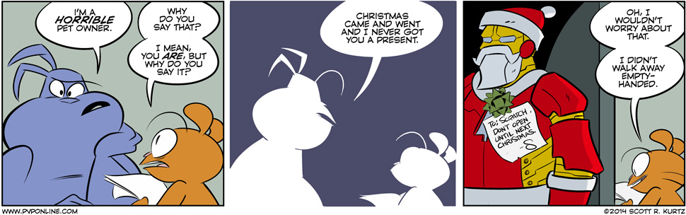 Comic Image for christmas future