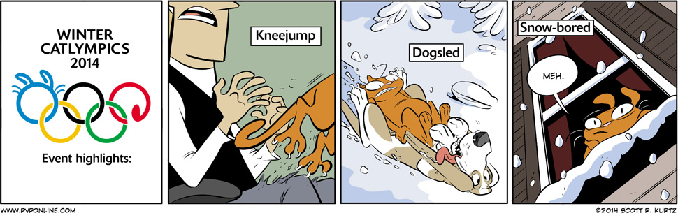 Comic Image for Catlympics 2014