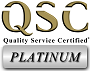 Quality Service Certified® Platinum