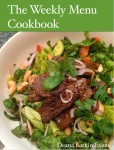 Gift Guide: The Weekly Menu Cookbook by Deana Larkin Evans