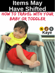 Featured Book: Items May Have Shifted: How to Travel With Your Baby or Toddler by NJS Kaye