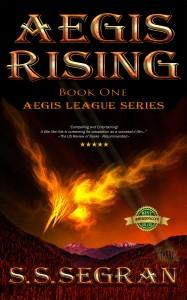 AEGIS RISING by S.S.Segran