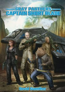 Featured Book: Gray Panthers Captain Short Blade by David Guenther