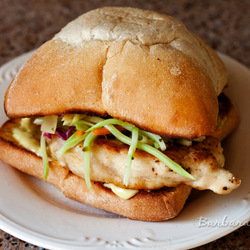 Lemon chicken sandwich recipe