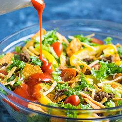 Taco salad Dorito recipe
