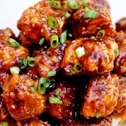 Turkey Teriyaki Meatballs Recipe