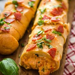 Pizza Football recipe