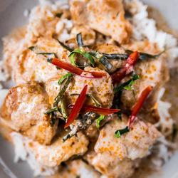 Thai Recipe chicken cury