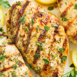 Greek Lemon Chicken Gyro Recipe