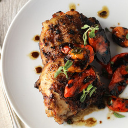 Korean Spiced Chicken Thighs Recipe
