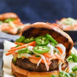 Bánh Mì Burgers Recipe