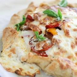 HEIRLOOM TOMATO GALETTE WITH BURRATA Recipe