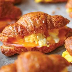 FREEZER CROISSANT BREAKFAST SANDWICHEs Recipe