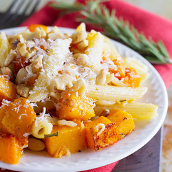 Roasted Butternut Squash Pasta Recipe