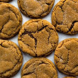 Seriously Soft Molasses Cookies Recipe