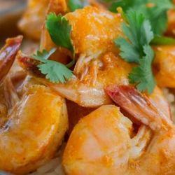 Sous Vide Thai Shrimp Curry