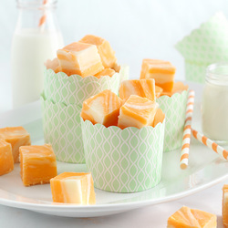 Creamsicle Fudge Recipe
